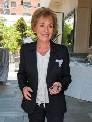 Judge Judy Sheindlin attends the 2014 Heroes Of Hollywood Luncheon at Taglyan Cultural Complex on June 5, 2014 in Hollywood, California.