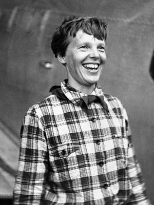 A June 6, 1937, file photo of Amelia Earhart.