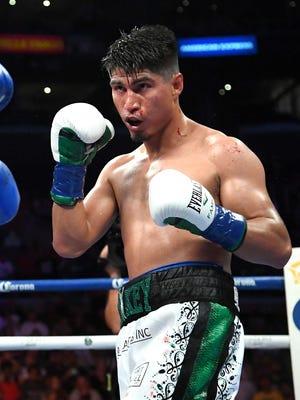 Mikey Garcia, world lightweight champion.