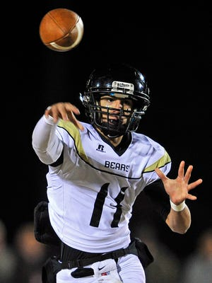 Mt. Juliet quarterback Nolan Chowbay will test the Blackman secondary on Friday.