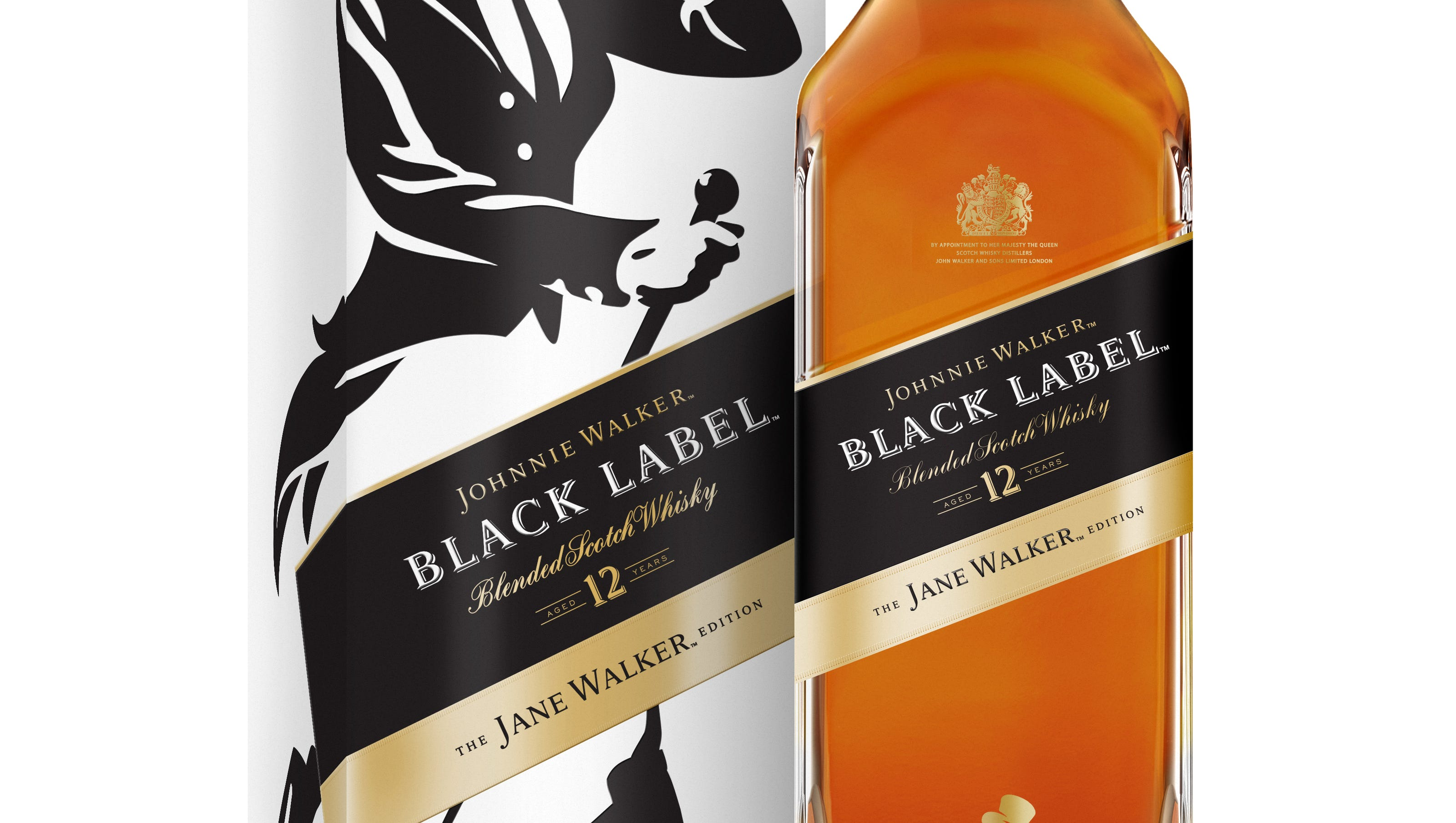 Johnnie Walker Whisky Puts Woman On Limited Edition Black Label