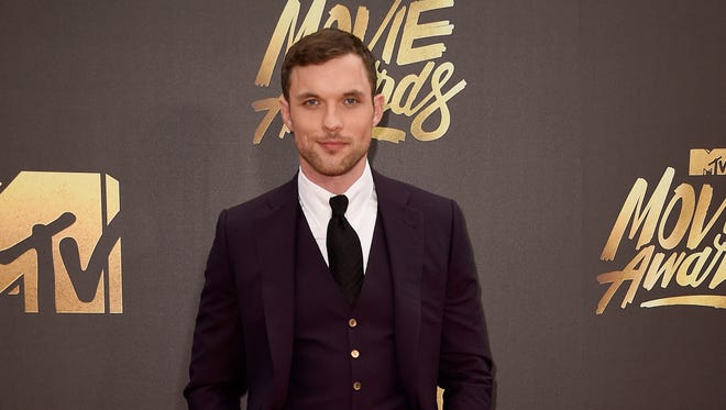Ed Skrein attending the MTV Movie Awards on April 9, 2016 in Burbank, California.