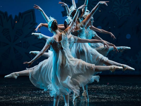 """A scene from """"Waltz of the Snowflakes"""""""