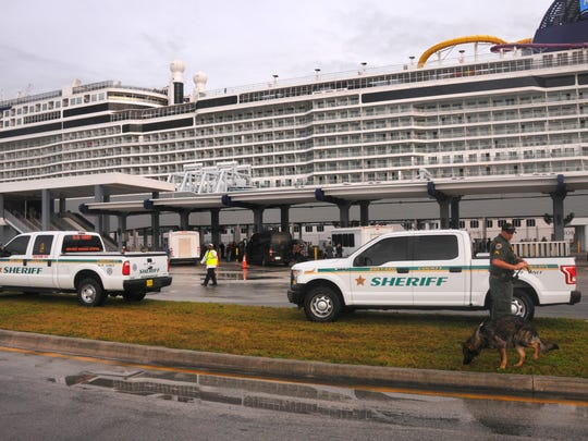 The Norwegian cruise ship Epic returned to port early Wednesday morning. Dozens were taken into custody  Saturday morning for drug offenses while in the terminal waiting to board the ship, including a popular DJ.  The cruise was know as the Holy Ship, a popular cruise with a youthful party crowd.
