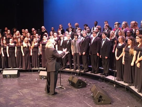 Indian River Charter High School choirs will be performing