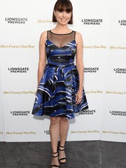 Actress Julie Ann Emery attends the premiere of Lionsgate Premiere's 'She's Funny That Way' at Harmony Gold on August 19, 2015 in Los Angeles, Calif.