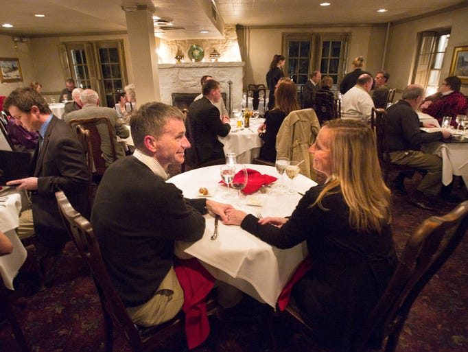 A romantic candlelight dinner awaits at The Accomac