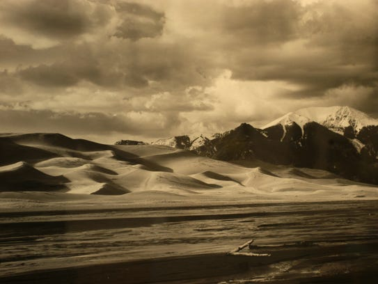 """""""Sunset at the Dunes"""" by Alan McConnell"""