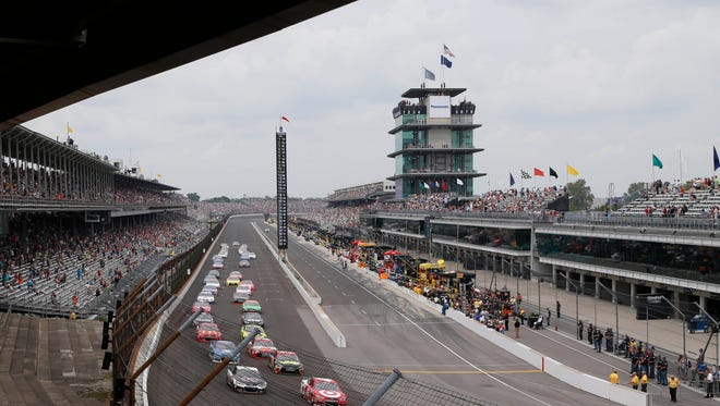 The NASCAR Sprint Cup Series will make its annual return to Indianapolis Motor Speedway this weekend.
