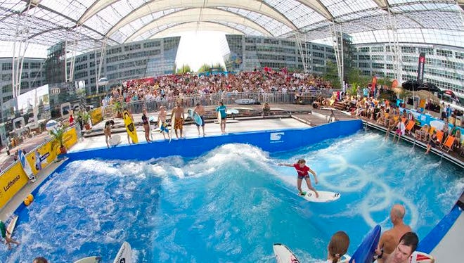 This is the fifth season Munich Airport is offering free surfing.