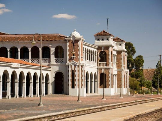 The most recognizable symbol of Barstow's train heritage is the Harvey House, built in 1910.