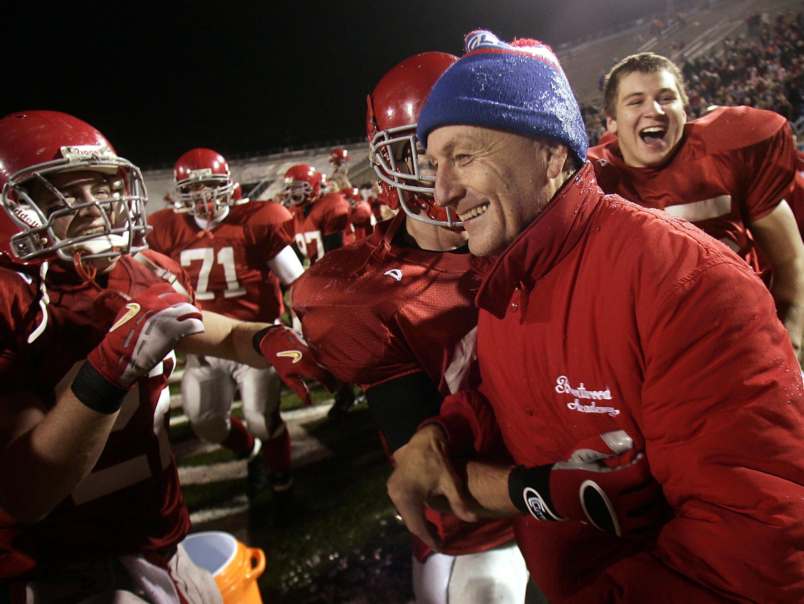 Brentwood Academy, led by longtime coach Carlton Flatt, defeated McCallie in the 2006 BlueCross Bowl after having fallen to the Blue Tornado in the regular season.