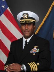 U.S. Navy Capt. Stan Jones, a 1988 University of Tennessee