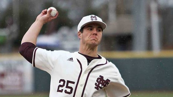 Mississippi State pitcher Dakota Hudson was named a third-team All-American by Perfect Game on Monday.