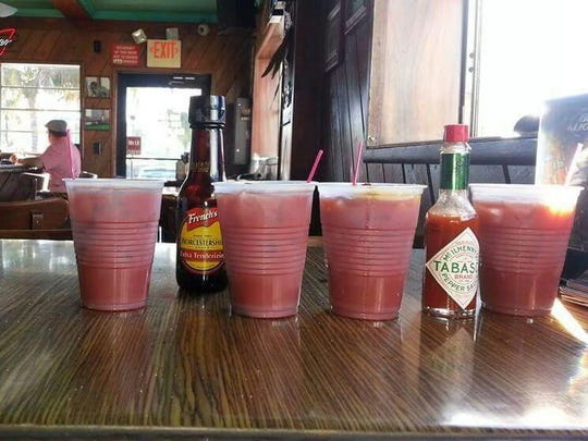 $1 Bloody Marys from Mermaid Lounge on Fort Myers Beach