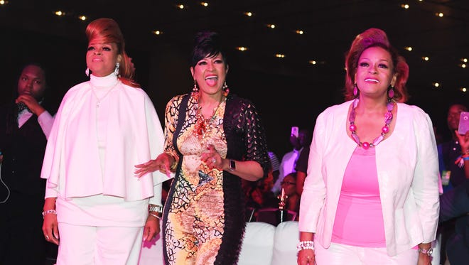 Karen Clark Sheard, Dorinda Clark-Cole and Jacky Cullum Chisholm from The Clark Sisters will be the musical guests at Triumph Church weekend services.