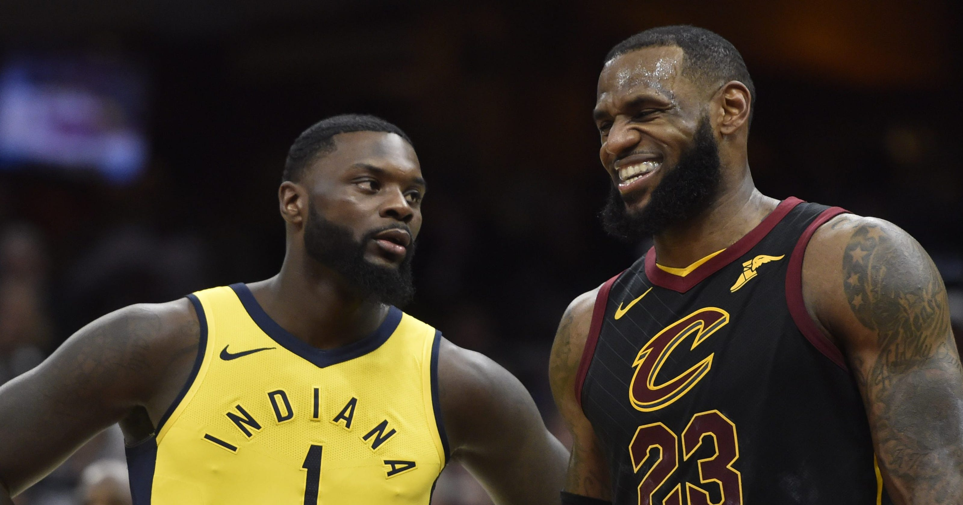 38d43dcc282 Lance Stephenson delivers Lakers preseason highlights with LeBron