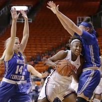 Middle Tennessee's defense, 3-pointers stymie UTEP in 54-45 loss