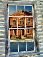 The Meade Hotel is still standing in Bannack State