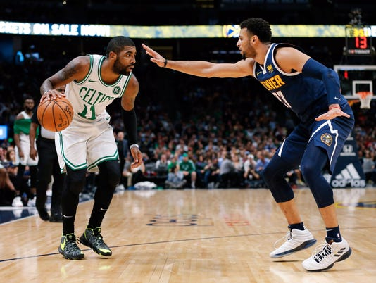 USP NBA: BOSTON CELTICS AT DENVER NUGGETS S BKN DEN BOS USA CO