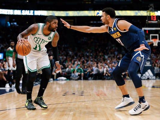 USP NBA: BOSTON CELTICS AT DENVER NUGGETS S BKN DEN BOS USA CO