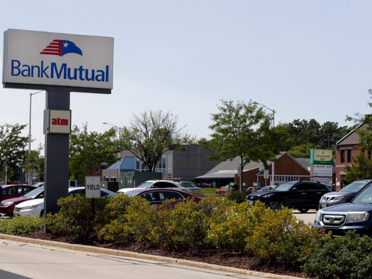 The Bank Mutual on N. Mayfair Road in Wauwatosa will