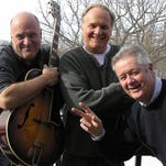 Former TV news anchor Mike Miller and his band 3M are set to entertain at the Oconomowoc Arts Center's annual open house on July 16. The band members are (from left) Brian Mitchell, Miller and Ted McCabe.
