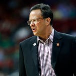 Indiana's coach Tom Crean has been with the Hoosiers since 2008. Mar. 17, 2016