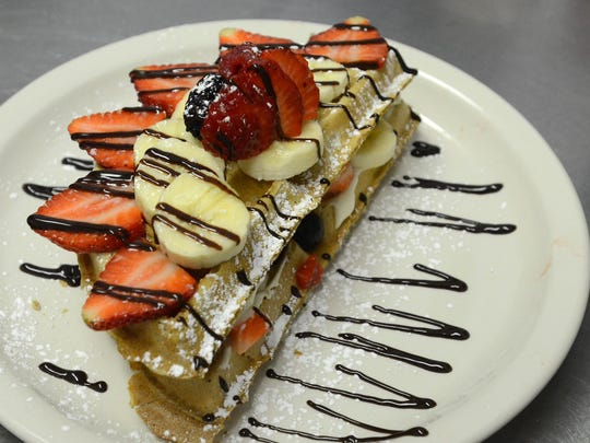 One of the dishes the Oemlette and Waffle Cafe is known for.