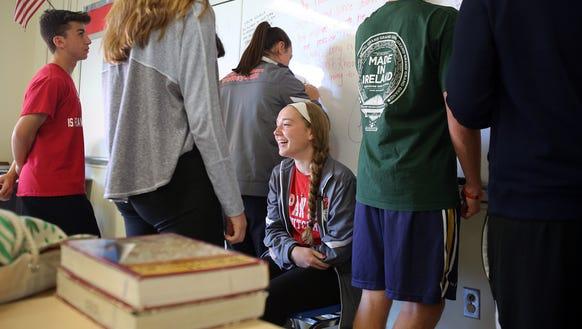 Rockland scholar-athlete of the week Madison Kousoulas