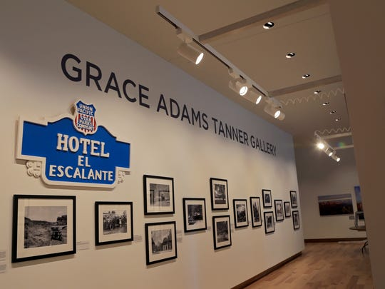 """""""The Grand Circle,"""" a historic photography show, is among the five exhibits currently on display at the Southern Utah Museum of Art in Cedar City."""