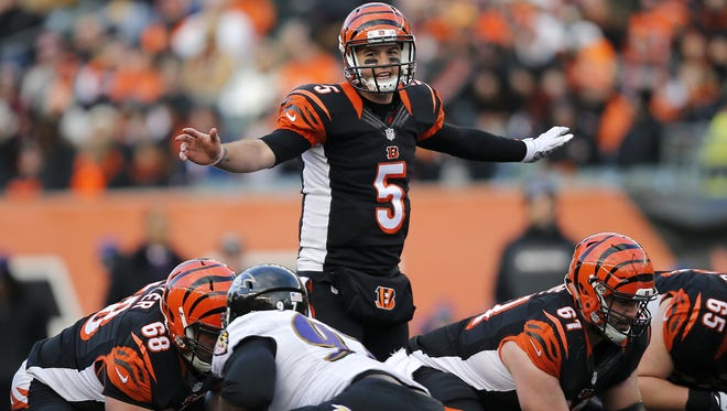 Cincinnati Bengals quarterback AJ McCarron will see the Pittsburgh Steelers for the second time in less than a month on Saturday.