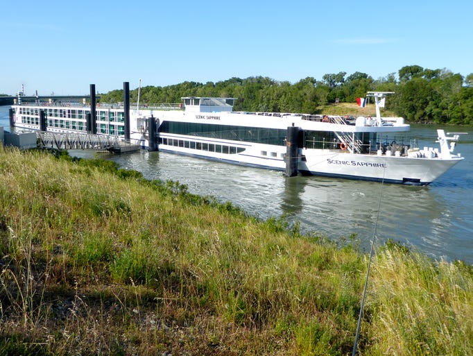 The recently renovated, 167-guest Scenic Sapphire is