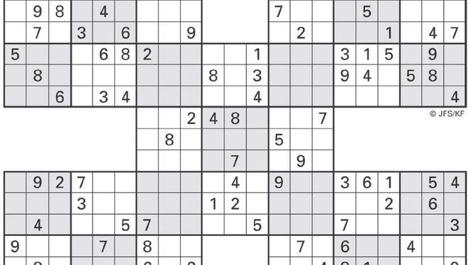 This week's Sudoku High Five