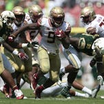 Florida State offense holds block party at South Florida