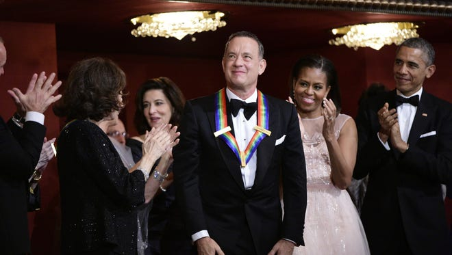 Tom Hanks is among the performers in the spotlight on the broadcast of The 37th Annual Kennedy Center Honors on CBS.