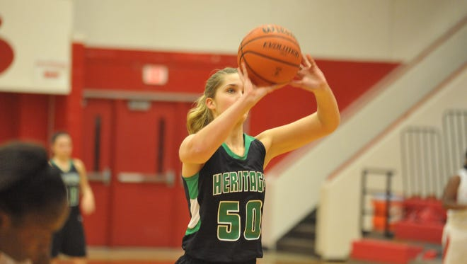 Mountain Heritage's Lacy Elkins.