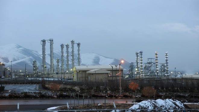 This 2011 photo shows Iran's heavy water nuclear facility near the city of Arak, one of several sites that would be impacted by a landmark deal with world powers being negotiated this week in Switzerland.