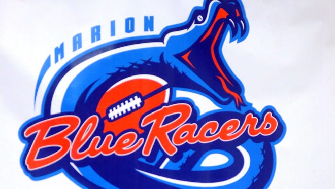 Blue Racers logo