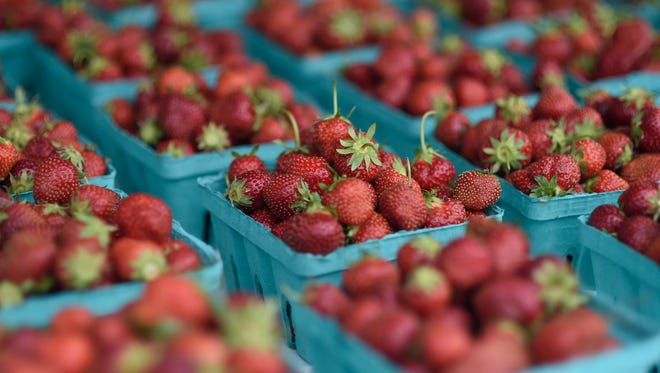 Thousands attended the 35th annual Strawberry Festival in Owego.