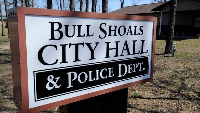 Sign at Bull Shoals City Hall