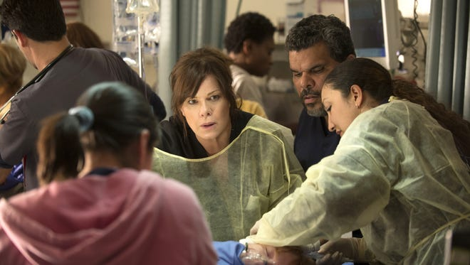 Marcia Gay Harden and Luis Guzman are among stars of CBS' new medical drama 'Code Black.'