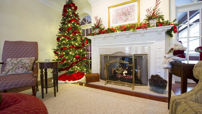 This Washington Boulevard home was decorated for Christmas last year. This year's Midtown Holiday Home Tour also will feature homes decorated for Thanksgiving and New Year's.