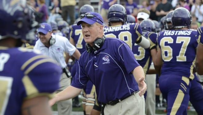 Western Carolina coach Mark Speir's team dropped to 5-3 overall.