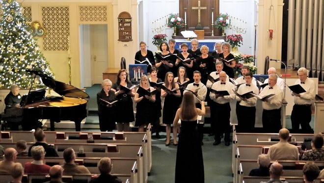Trinity Lutheran Church's chancel choir in 2013.
