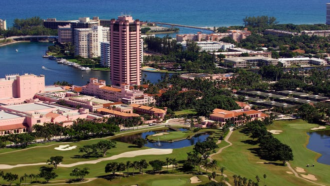The Boca Raton Resort & Club, A Waldorf Astoria Resort overlooks the Atlantic Ocean and Intracoastal Waterway complete with an exclusive marina, accommodating vessels up to 170 feet and longer.