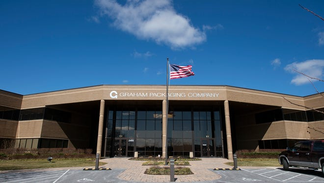 Graham Packaging Company in Springettsbury Township Wednesday