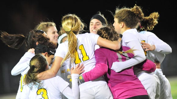 The Reynolds girls soccer team beat Asheville Christian Academy, 2-0, on Wednesday night.
