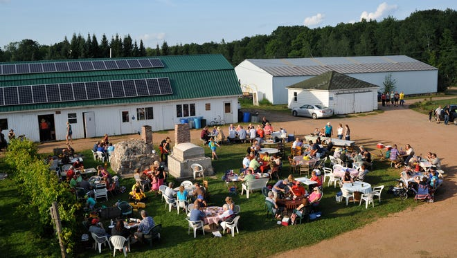 """Friday is """"Pizza on the Farm"""" night at Stoney Acres Farm, Athens."""
