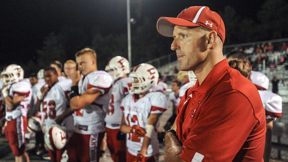 Franklin football coach Josh Brook and the Panthers host East Henderson on Oct. 20, the same night as an athletic hall of fame induction in Macon County.